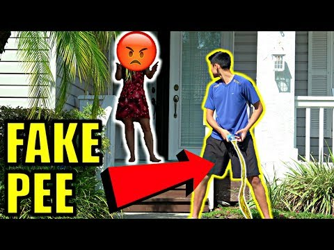 DING DONG DITCH AND PEE PRANK! **GONE...