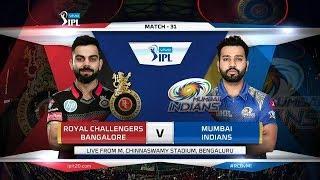 MI vs RCB Highlights    IPL 2019 Point Table Today    IPL 2019 Highlights