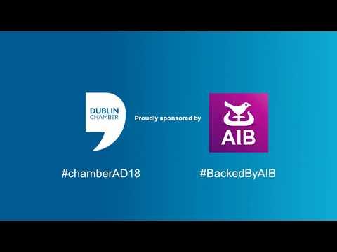 Dublin Chamber Annual Dinner 2018