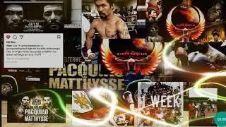 MANNY PACQUIAO VS MATTYSSE