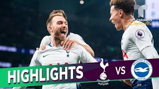 Tottenham vs. Brighton: 1-0 Goals & Highlights | Premier League | Telemundo Deportes