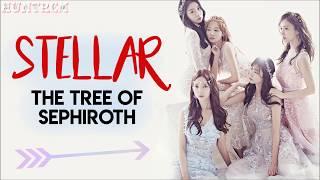 STELLAR(스텔라) - The Tree of Sephiroth (세피로트의 나무) [MEMBER CODED HAN/ROM/ENG LYRICS]