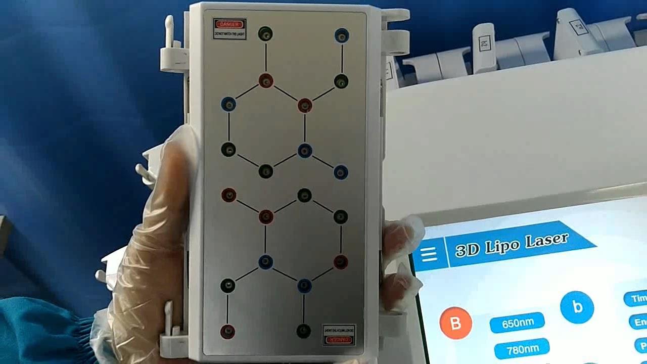 starnewtech 3d lipo laser machine for body slimming - YouTube