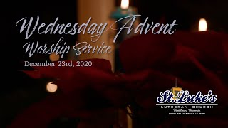 Advent Worship Service | December 23rd, 2020