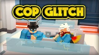 ROB THE JEWELRY STORE AS A COP GLITCH! (ROBLOX Jailbreak)