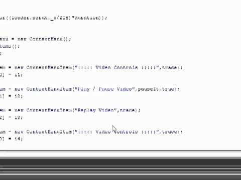 Flash Video Basics - Part 7
