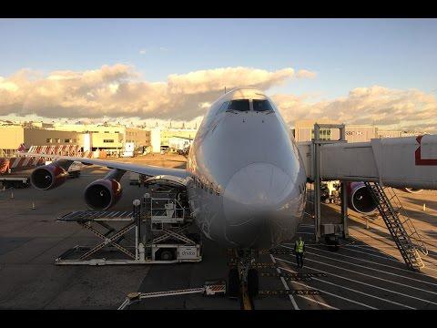 Virgin Atlantic | Boeing 747-400 | LHR-JFK | Economy