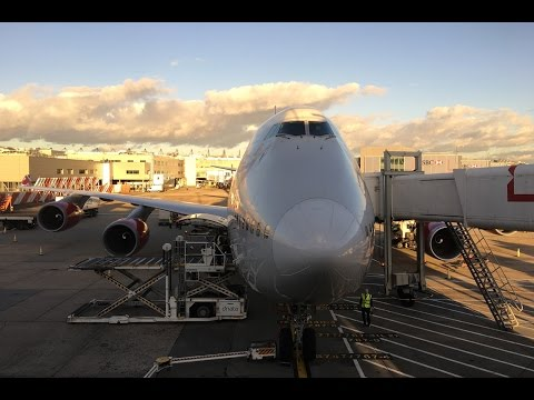 Virgin Atlantic | Boeing 747-400 | LHR-JFK | Economy