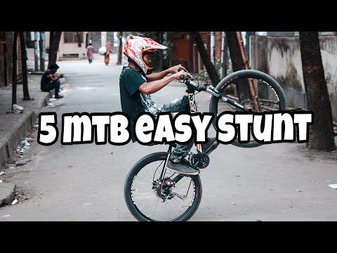5 mtb easy stunt || cycle stunt || fuadhassan