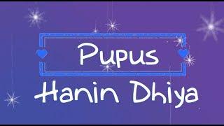 Hanin Dhiya - Pupus KARAOKE TANPA VOKAL