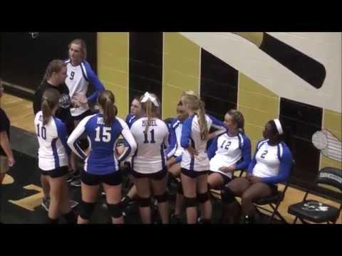 Model high school Coosa girls volleyball tournament at Rockmart Ga