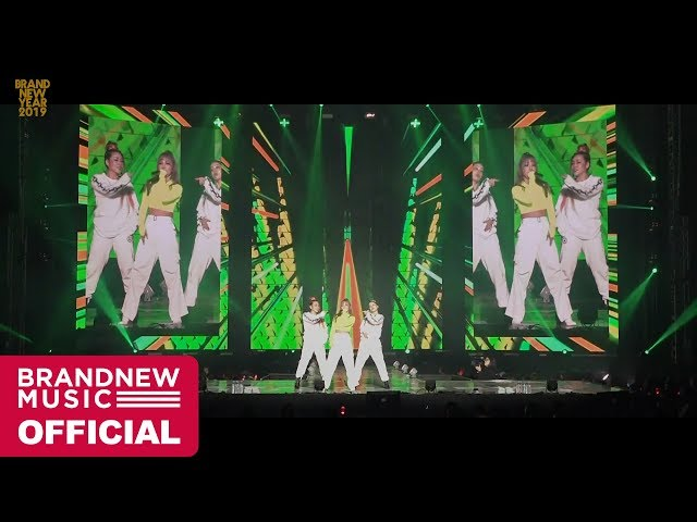 [BRANDNEW YEAR 2019] 키디비 (KittiB) '마녀 (Witch) + I`m Her' LIVE CLIP