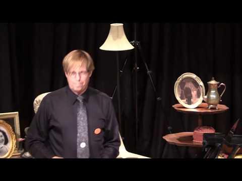 """Professor"" Bill Edwards performing his original work ""Orient Appalachian Express"""