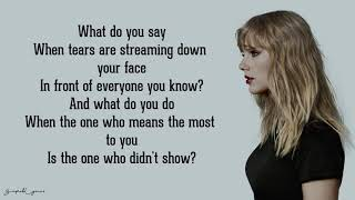Watch Taylor Swift The Moment I Knew video