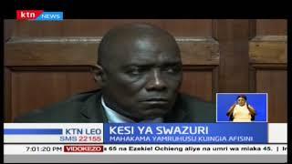 Mohammed Swazuri amepewa ruhusa na mahakama kuingia afisini mwake