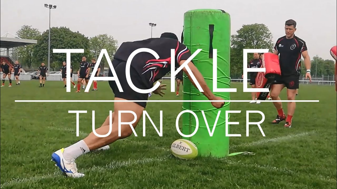 RUGBY TACKLE AND TURNOVER DRILL
