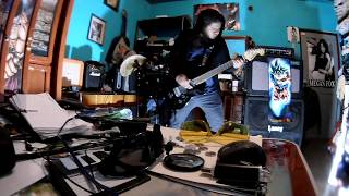 Six Feet Under - The Separation of Flesh from Bone - Guitar Cover - Adrian LR #26