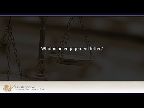 What is an engagement letter?