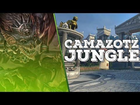 SMITE Camazotz Gameplay   Jungle   SUSTAIN GALORE!   PTS Custom Game