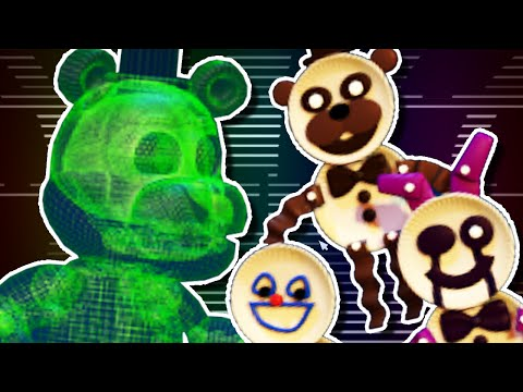 VIRTUA-FREDDY & THE PAPERPALS!! | FNAF World #5