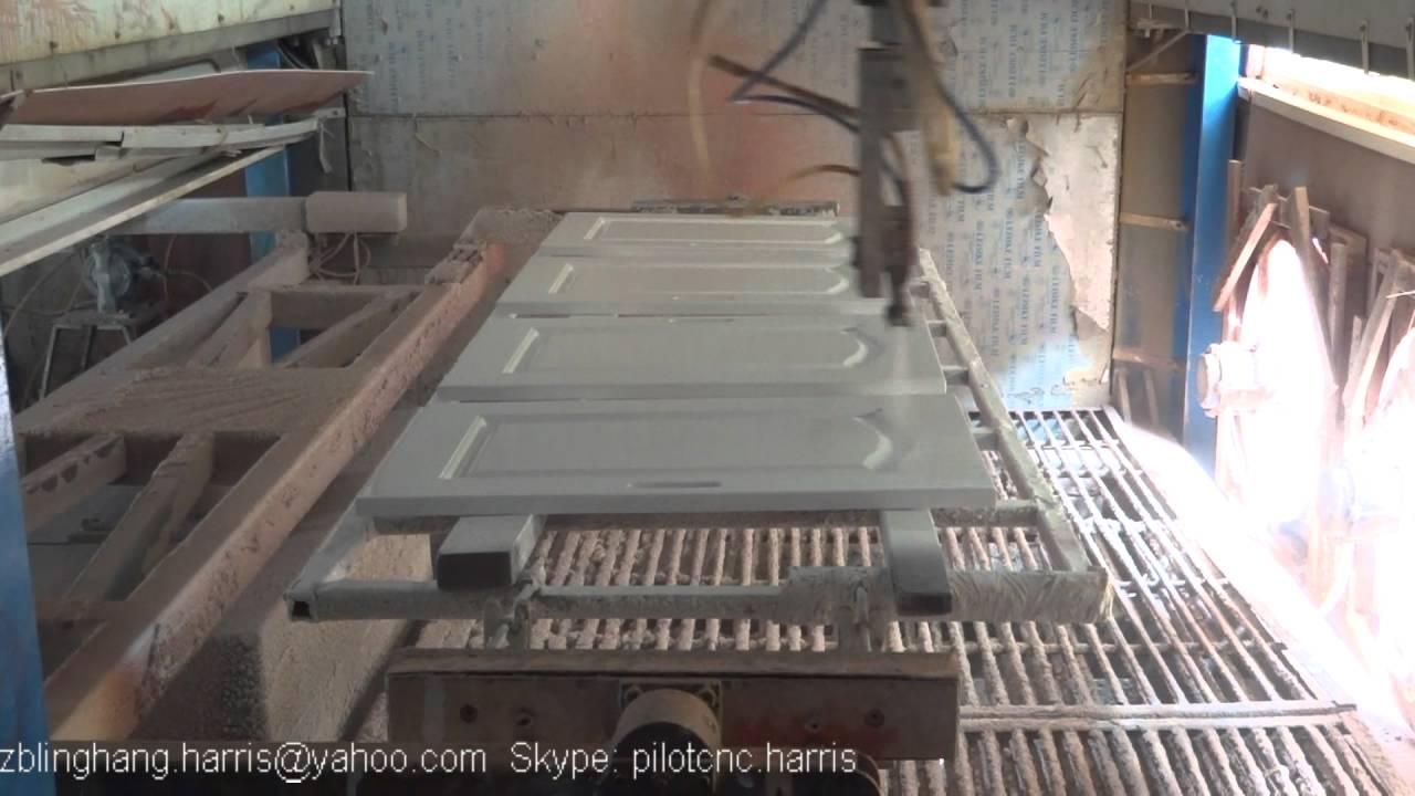 Painting Cabinet Door/Spray Painting Machine   YouTube