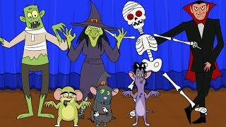Rat-A-Tat |'Vampire 🧛 Skeleton Dance 💀Ghost Don Full Episodes'| Chotoonz Kids Funny Cartoon Videos