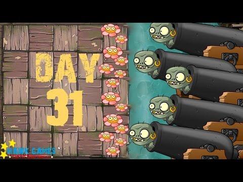 Plants Vs Zombies 2 - Pirate Seas - Day 31 [Last Stand] No Premium