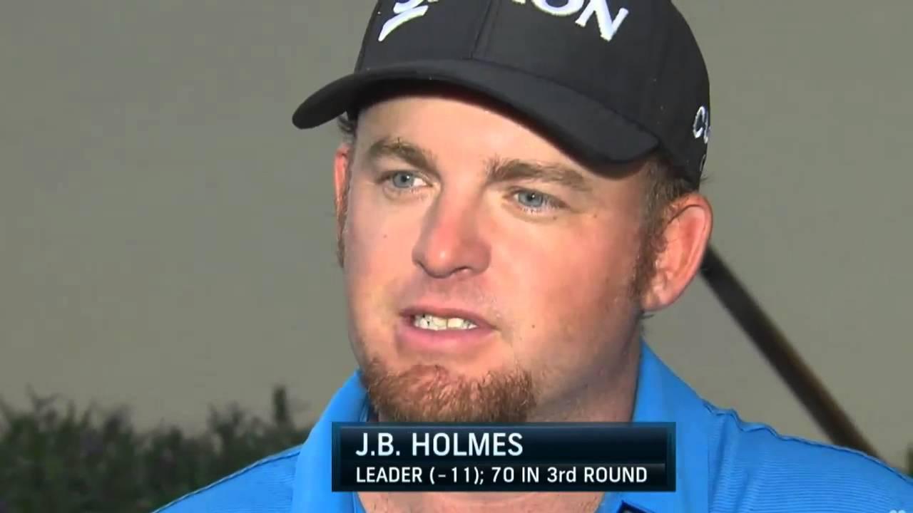 J B Holmes Defines 2015 Wgc Cadillac Championship Round 3 Youtube