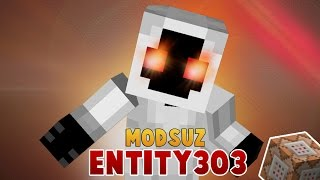 MODSUZ ENTİTY 303 ÇAĞIR! | Minecraftta Tek Komutla [Entity303] Yap