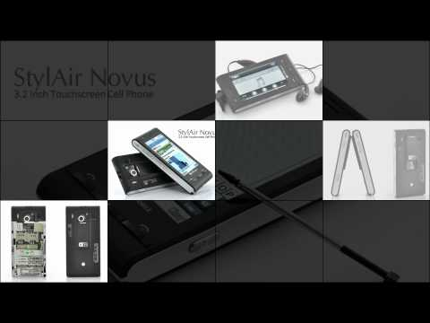 StylAir Novus - 3.2 Inch Touchscreen Cell Phone