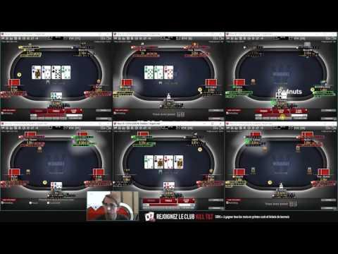 [Poker] Cash Game - 6 Tables en N2 (0.01/0.02€)