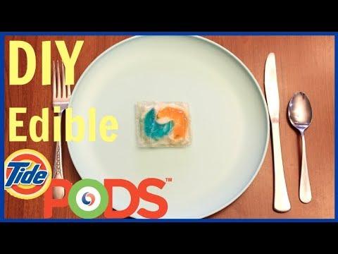 DIY Edible NONTOXIC Tide Pods!