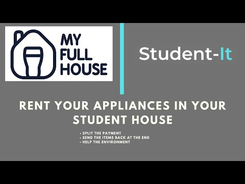 Student-It & My Full House: Rent Your Student House Appliances