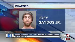 Former school of rock star arrested in Punta Gorda