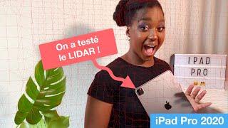 On a testé le LIDAR de l'iPad Pro 2020 !