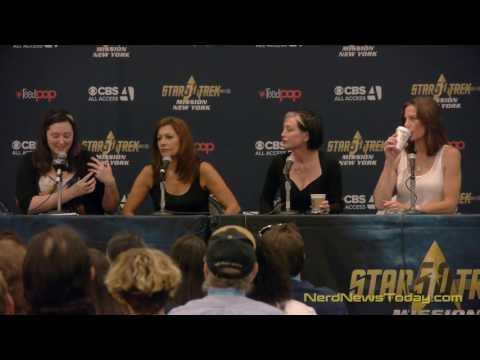 The Women of Star Trek - Star Trek Mission New York - FULL PANEL