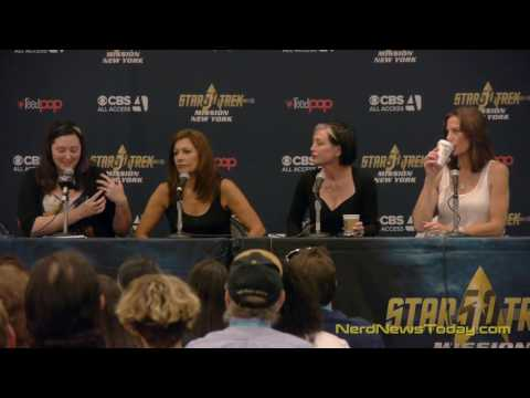 The Women of Star Trek  Star Trek Mission New York  FULL PANEL