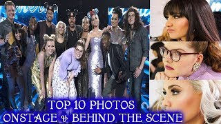 Top 10 Photos Onstage and Behind the Scenes American Idol 2018 Top 10