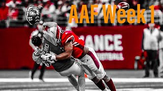 AAF Highlights | Best of Week 1 | Week 1 in 10 Minutes