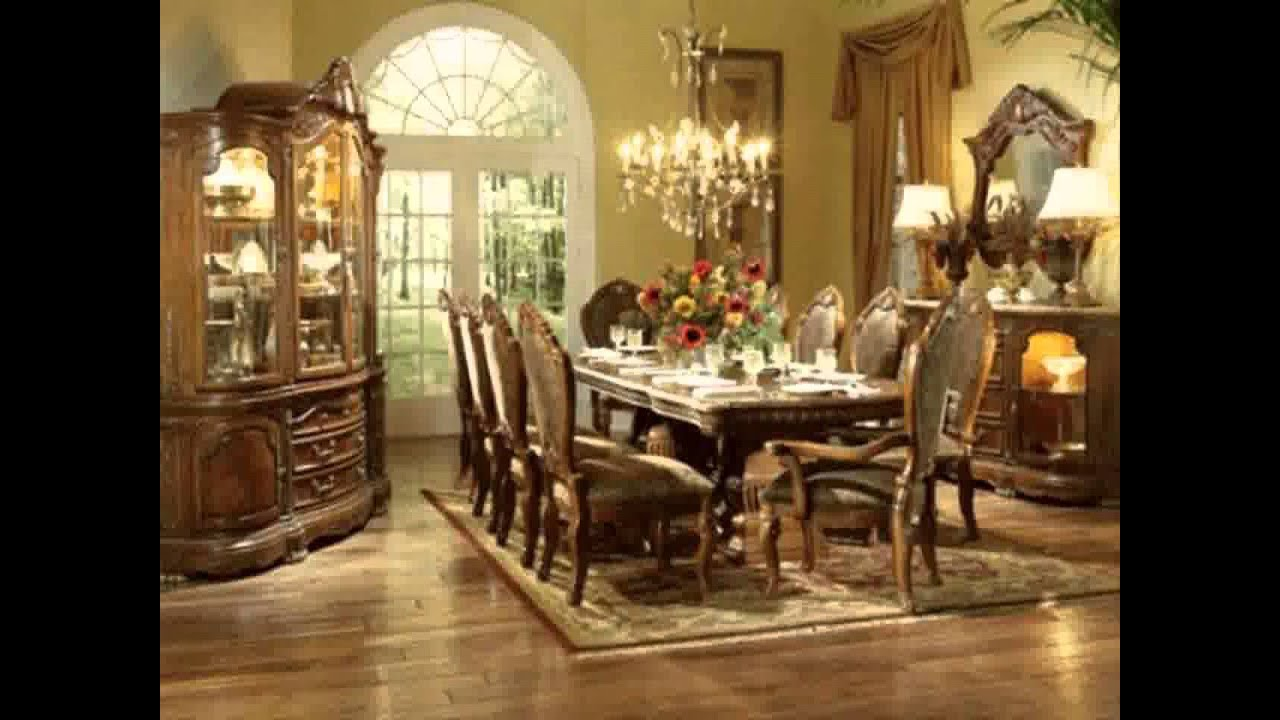Mesa de comedor ideas de decoración - YouTube