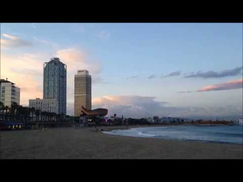 Playa Barceloneta, Barcelona - Barcelona Beach of Barceloneta Spain