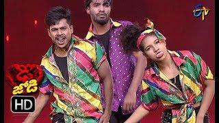 Subhash and Mansi Performance | Dhee Jodi | 9th January 2019   | ETV Telugu