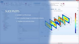 How to Create Slice Plots in COMSOL Multiphysics