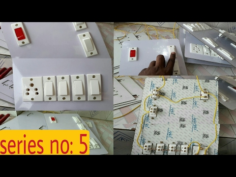 SWITCH BOARD WIRING CONNECTION IN HINDI (Hindi/Urdu)- YouTube SEO Electro Technic