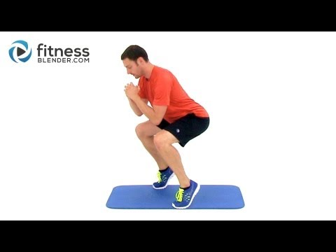 43 Minute Low Impact Workout for Endurance Descending Ladder Total Body Burnout Challenge