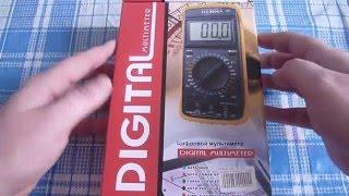 Мультиметр DT 9205A.Обзор