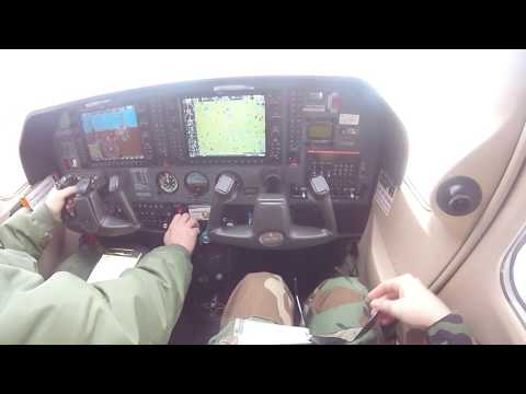 My Civil Air Patrol Cessna 182 flight