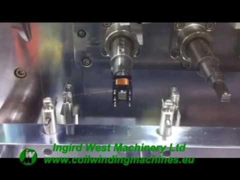 Ingrid West Multi spindle automatic coil winding machine Video 1