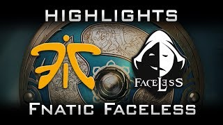 Fnatic vs Faceless TI7 The International 2017 SEA Highlights Dota 2