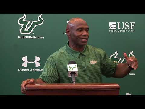 USF Football: Week Four (Illinois) Press Conference - Coach Strong